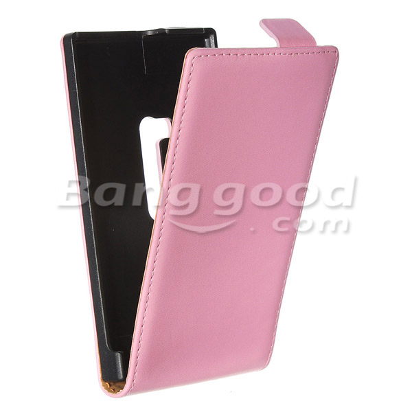 Flip-Open Leather Magnetic Hard Shell Case For Nokia Lumia 920