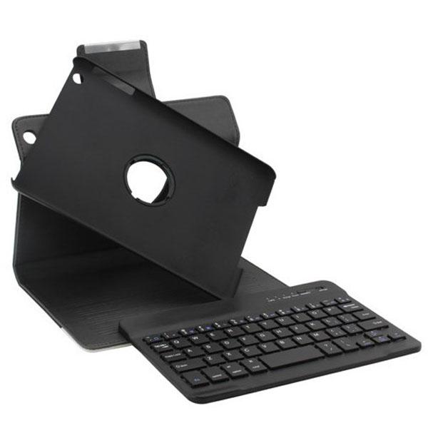 Crocodile Pattern Folio Rotating PU Leather Case For iPad Mini P3601