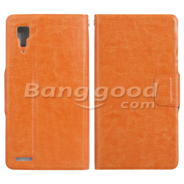 Synthetic Leather Card Wallet Case For Xiaomi Mi2 Smartphone