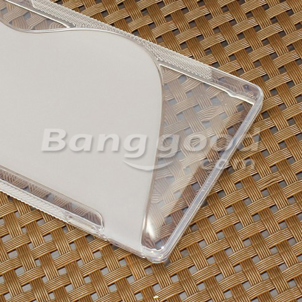 S-Line Soft TPU Silicone Back Case For Sony Xperia SP M35h C5302