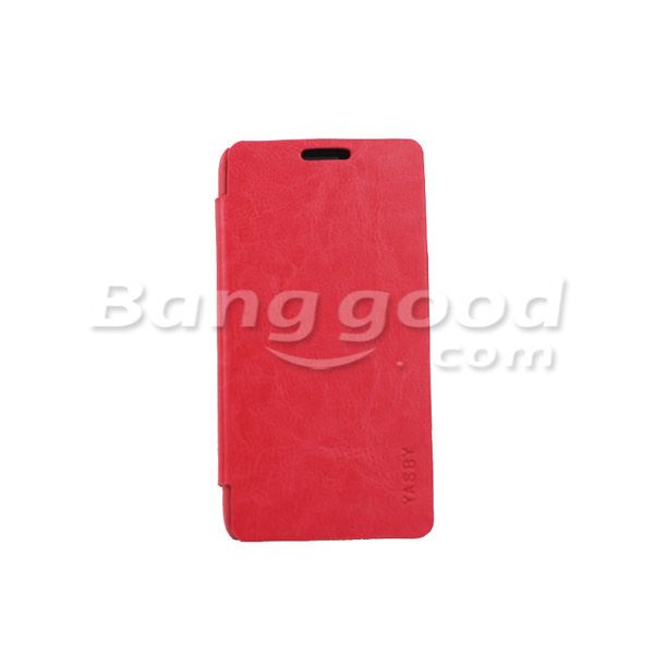 YASBY Leather Protective Case For HUAWEI Ascend P6