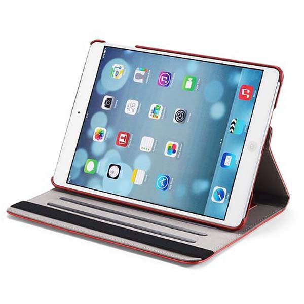 Crazy Horse Grain Pattern Rotation PU Leather Case Cover For iPad Air