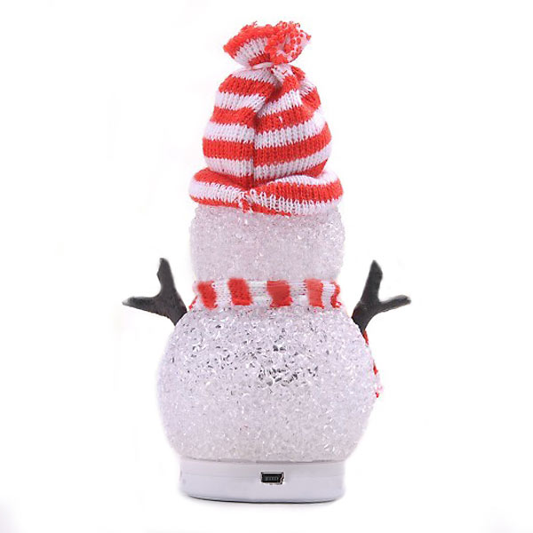 Mini Snowman bluetooth Speaker For iPhone Smartphone Device