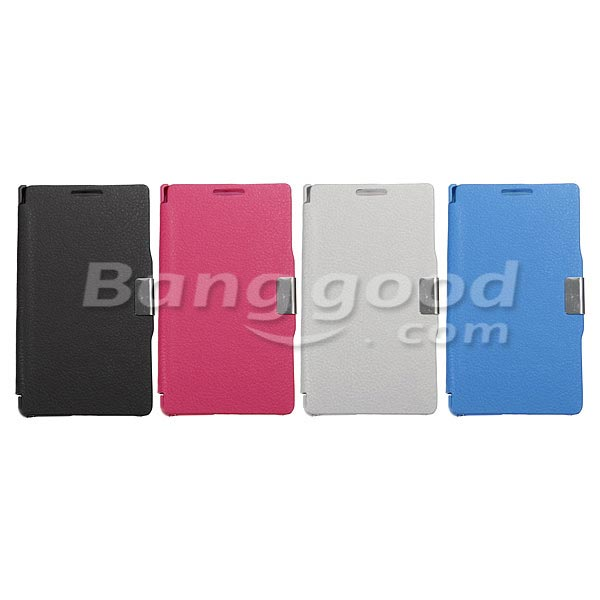 Magnetic Flip PU Leather Protective Case For LG Optimus L7