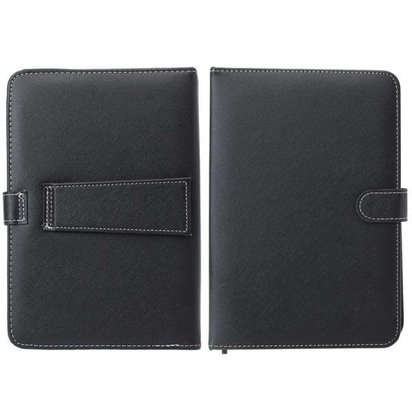9 Inch French Keyboard PU Leather Case Cover With Stand For Tablet