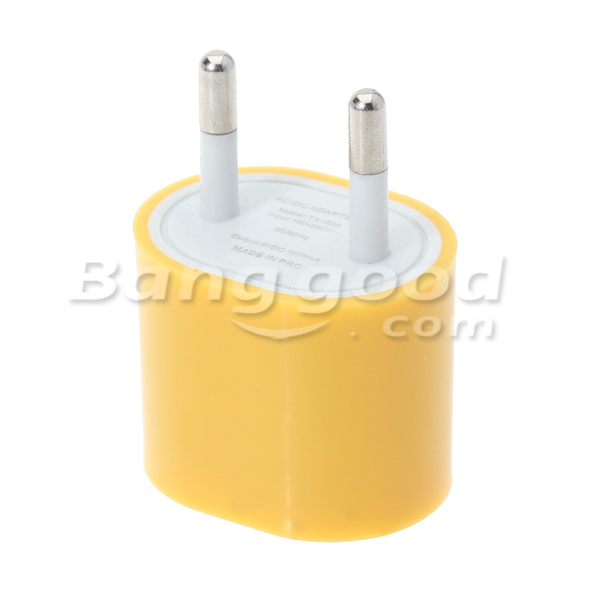 EU 5v 1000mA Mini Travel USB Charger Adapter For Mobile Phone