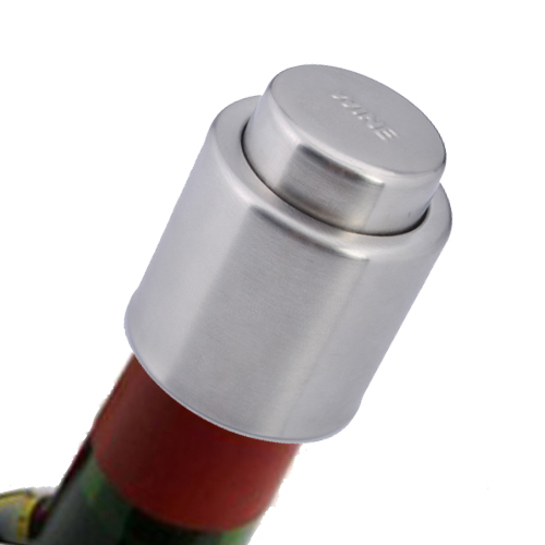 Stainless Steel Sealed Red Wine Stopper Bottle Spout Liquor Flow Stopper Pour Cap