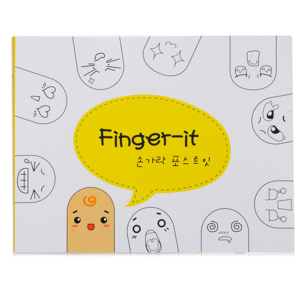 Ten Fingers Creative Sticker Bookmark Sticky Notes Pads Tags Paster