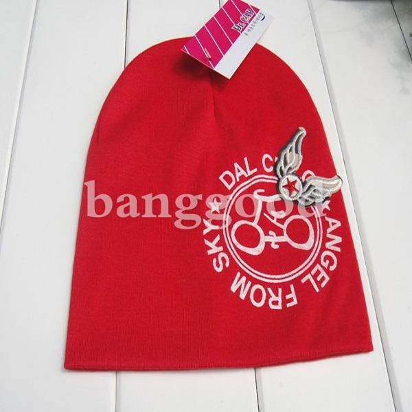 Fashion Bike Angel Wings Baby Cotton Hat