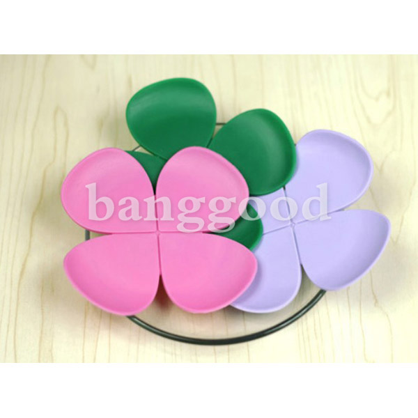 Creative 3D Flower Shape Scald-proof Silica Gel Cup Mat