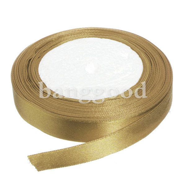 25Yard 15mm Satin Ribbon Bow Wedding Party HandiCraft Decoration