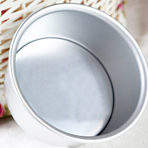 DIY 6-Inch Round Baking Pan Cake Mold