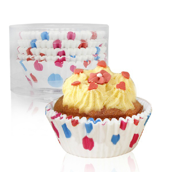 Dot Paper Baking Cup Cake Chocolate Mold Mould