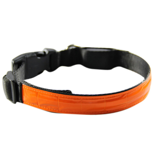 Night Safety Dog Collar Waterproof LED Pet Flashing Collar