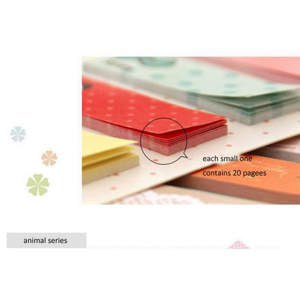 Cute Cartoon Sticky Notes Aniaml Notepad Memoule Memo