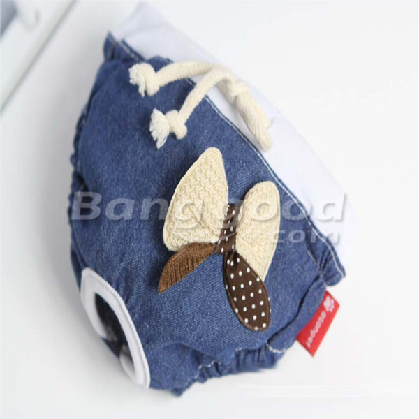Cotton Denim Pet Sanitary Pants Pet Dog Physiological Pants