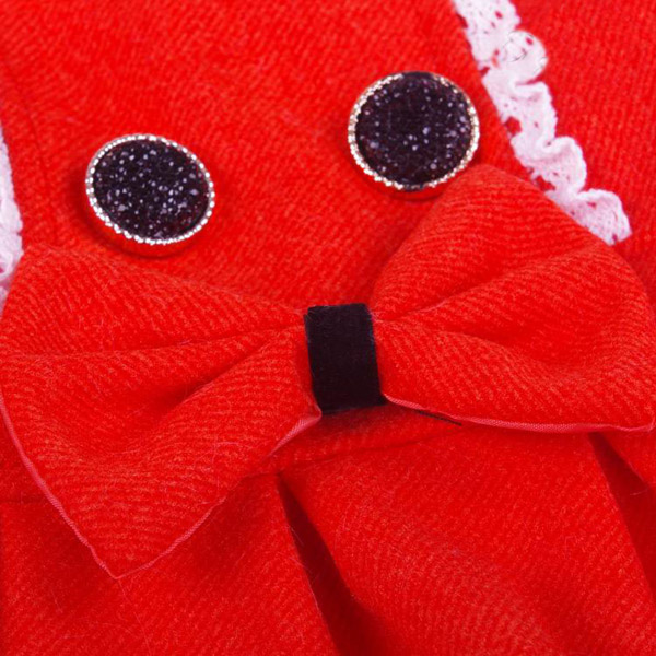 Fashionable Pet Fabric Princess Lovely Bow-Knot Decoration Skirt