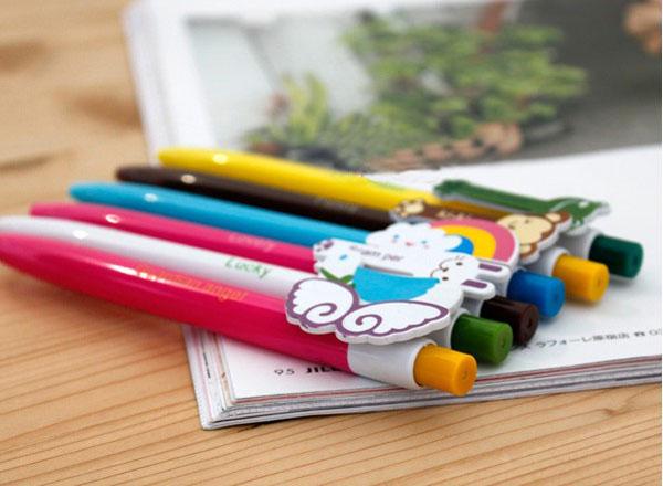 Cute Cartoon Images Ball Point Pen Korean Pens Novelty Pen