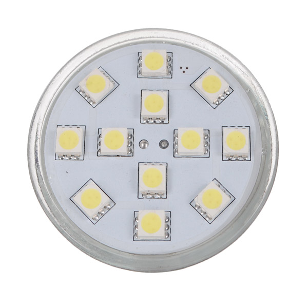 MR16 3.5W Pure White 12 SMD 5050 Energy