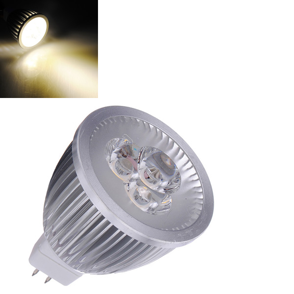 MR16 3W Warm White Energy Saving LED Spot Lightt Lamp Bulb 12V