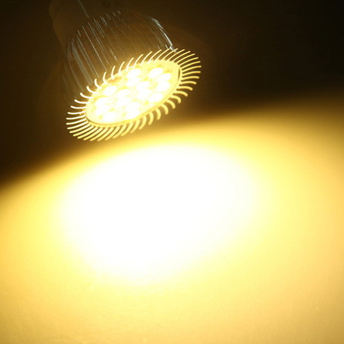 E14 6.5W 500-550LM Warm White 5630 SMD 16 LED Spot Lightt Bulbs 220V