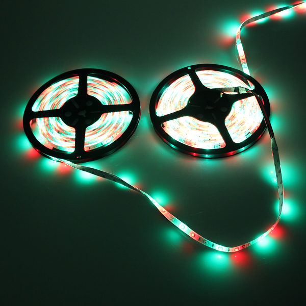 5M RGB 3528 LED Strip Lights Waterproof 12V 300led Strip