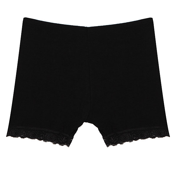 Women Safety Panty Ladies Hot Pant Black White Lace Bamboo Fiber Brief