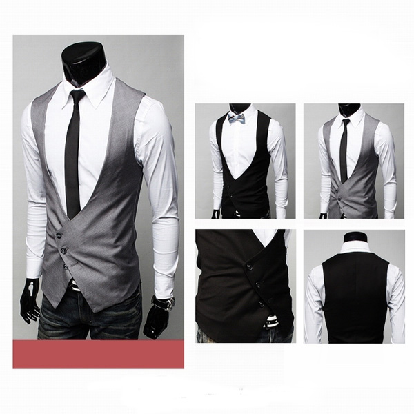 Men's Business Slim Fit Dress Suit Vest