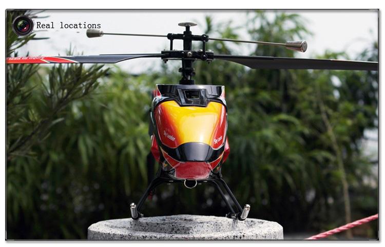 Wltoys v913 2.4 g de 4 canais única lâmina controlador rc helicóptero lcd