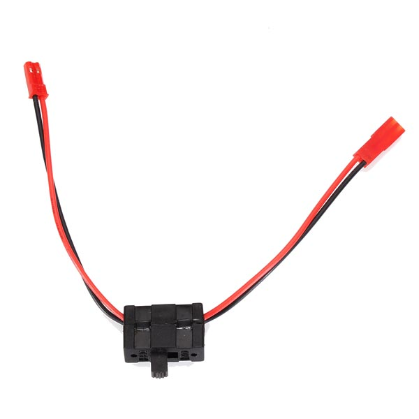on/off switch with jst plug for rc car model diy parts