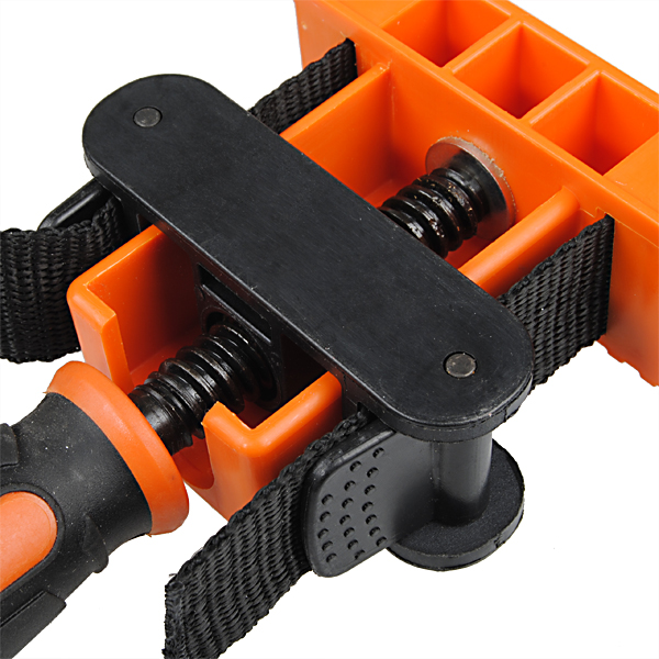 Nylon Binding Belt Clamp Polygons Angle Clip With 4M Long Belt