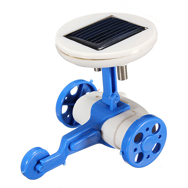 6 IN 1 Solar Powered Toy DIY Robots Plane Educational Kid Gift Creative