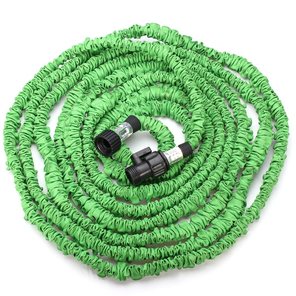 25 50 75 100FT Green Flexible Garden Car Water Hose EU/US Standard