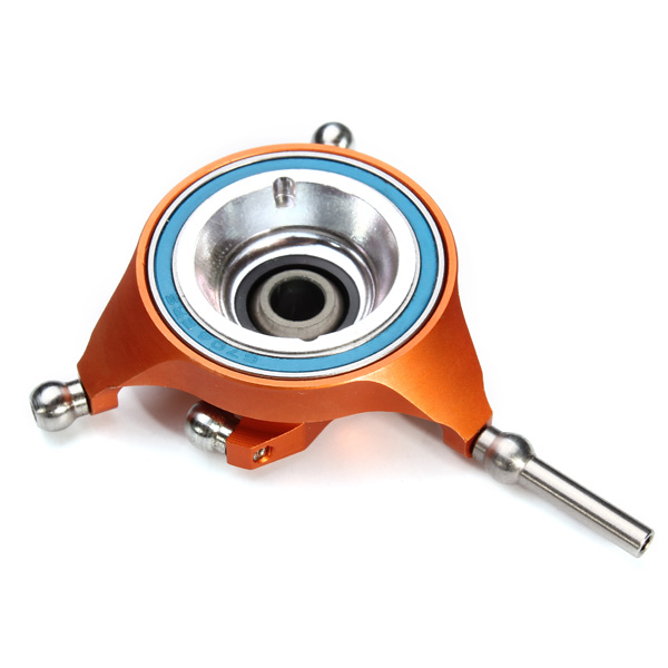 Tarot 450 DFC Helicopter Metal Swashplate Dual-Digit Orange/Black