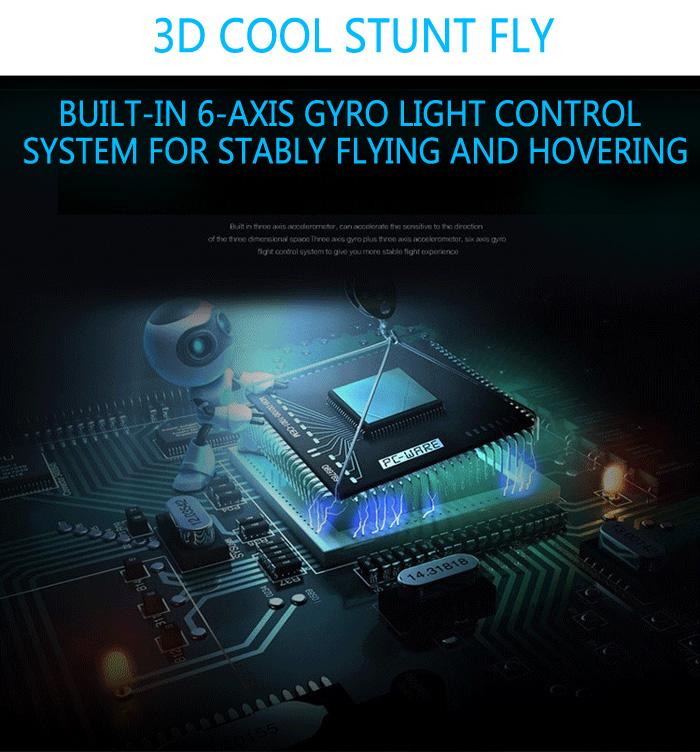 WLtoys V383 500 Electric 3D 6G 6CH 50A ESC RC Drone Quadcopter