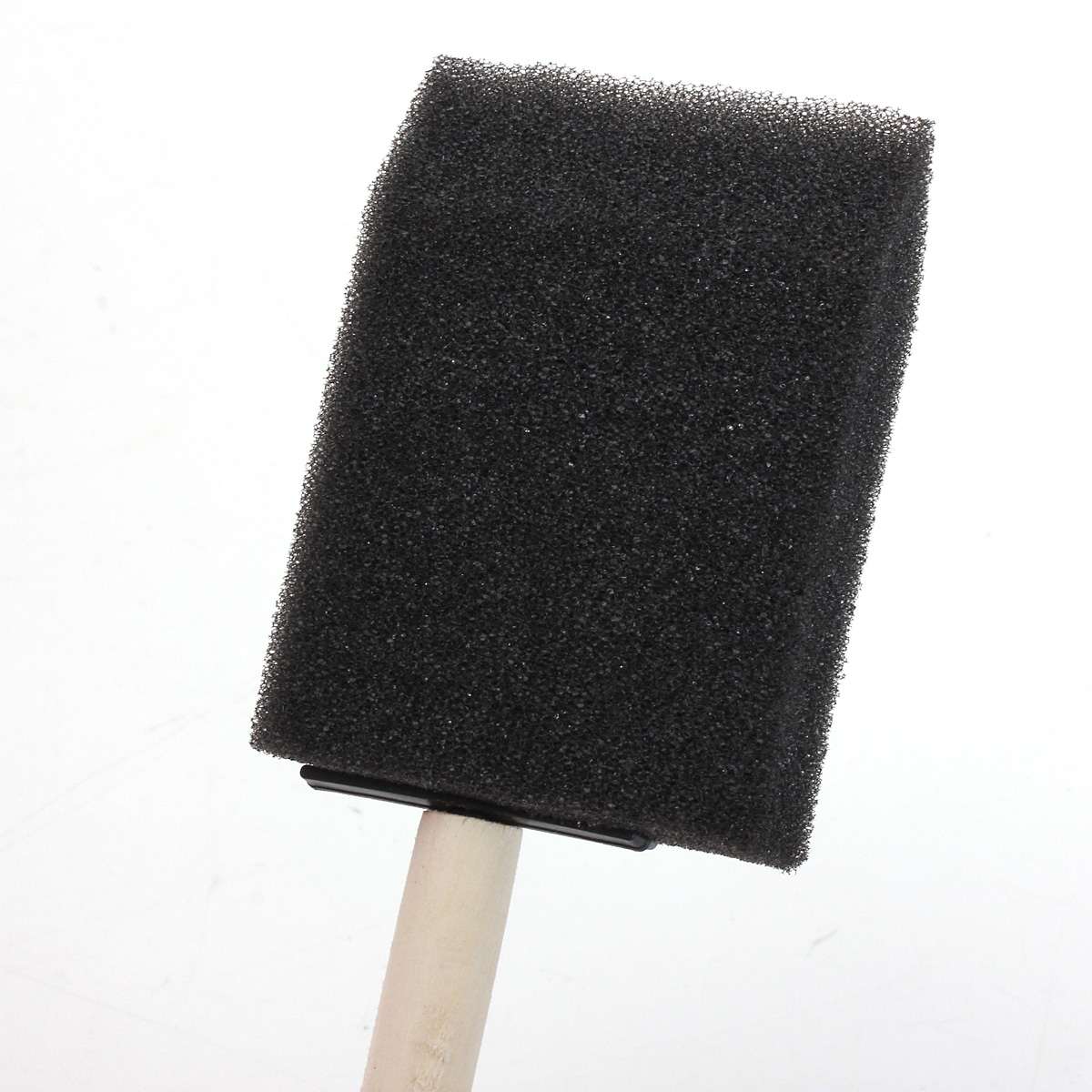 Sponge Wooden Handle Paint Craft Glass Glitter Brush