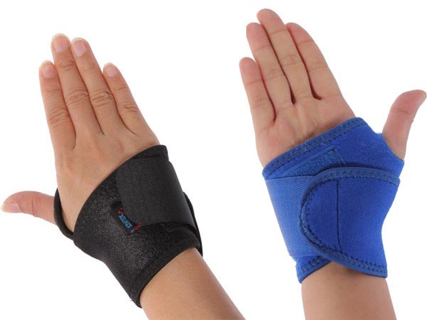 Sports Palm Wrist Strap Hand Wrap Glove Support Elastic Brace