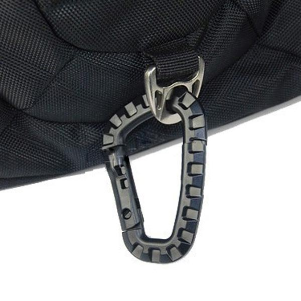 D-Ring Strong Carabiner Snap Keychain Tactical Backpack Hanging Hook