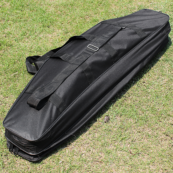 Fishing Rod Pole Bag Storage Case Boxes 3 Layers Holder Tackles