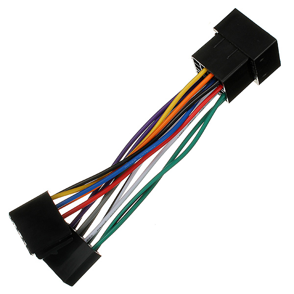 Car Head Unit Stereo Harness Adaptor ISO Lead For Peugeot