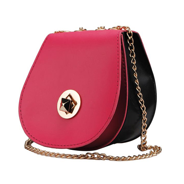 New Fashion Candy Color Ladies Small Shoulder Bag Cross Body Bag