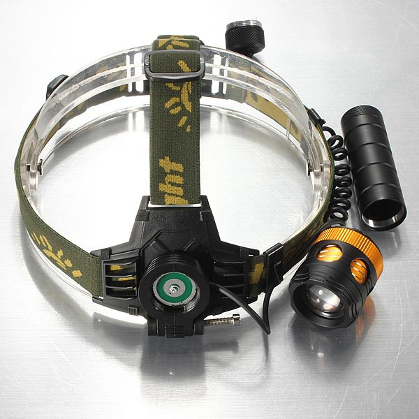 T6 LED Zoom Headlamp Flashlight Torch Bike Bicycle