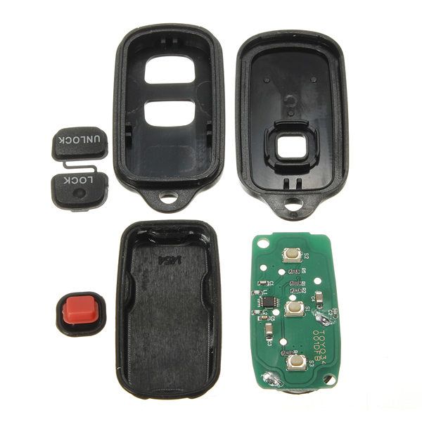 2 Button Keyless Entry Remote Key Fob Transmitter For Toyota