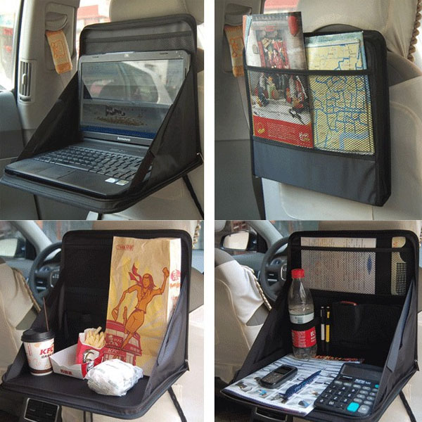 car laptop holder tray bag mount back seat food table work desk rh banggood com