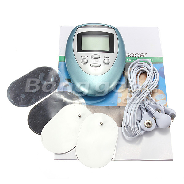 4 Squishies Squishy Pads Multi-function Full Body Digital Electric Massager Therapy Machine
