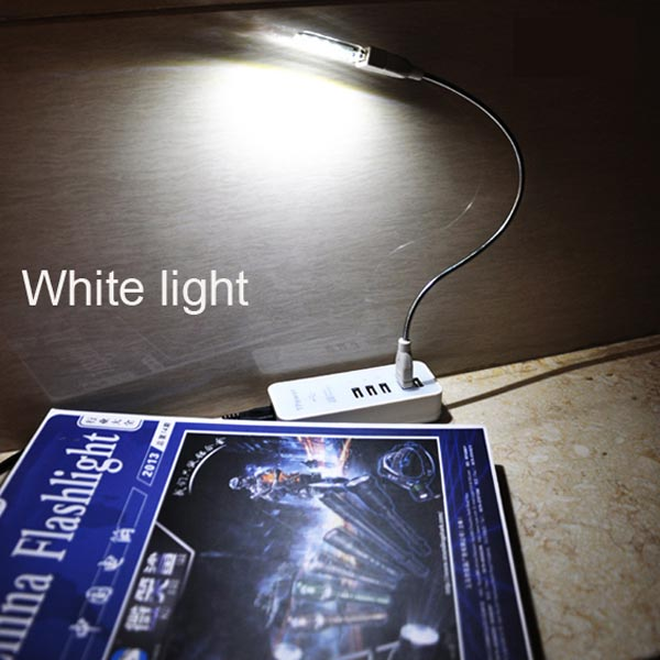 Mini USB LED Computer Lamp USB Light Mobile Power Flashlight lamp With Tube