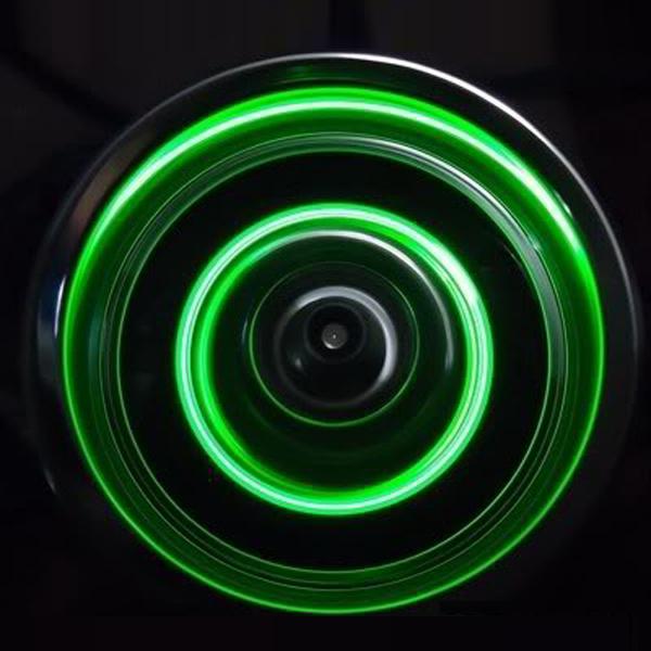 Power LED Dynamic Wheel Light For RC Drift Car Brake Disc