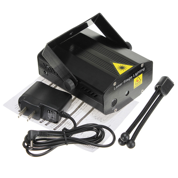 Mini Laser Stage Projector Light With Sound Activation For Party