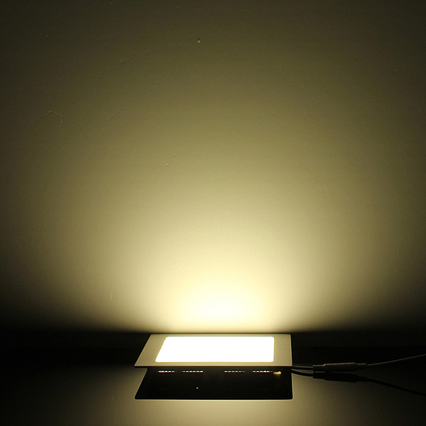 Dimmable 15W Square Ultra Thin Ceiling Energy-Saving LED Panel Light