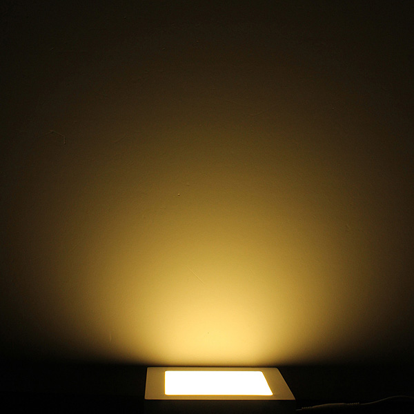 15W Square Dimmable LED Panel Ceiling Down Light Lamp AC 85-265V